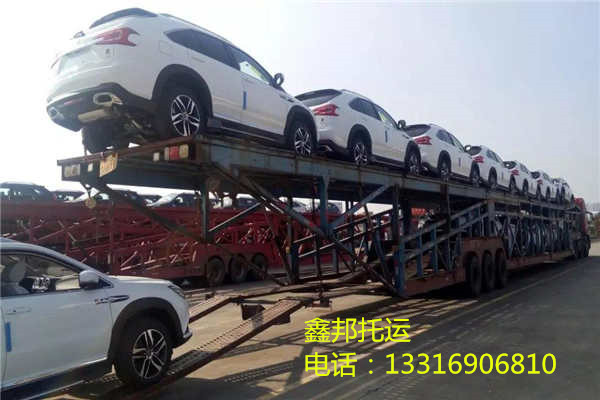 深圳到北京轿车托运-比亚迪SUV装车现场